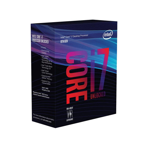 Intel Core i7-8700K 12M Cache, up to 4.70 GHz Processor