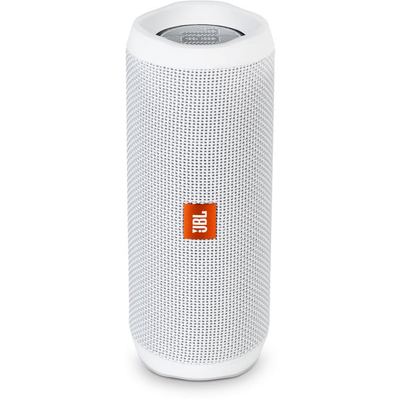 JBL Flip 4 Waterproof Portable Bluetooth speaker - White