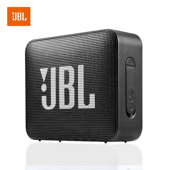 JBL GO 2 Portable Bluetooth Speaker, Black