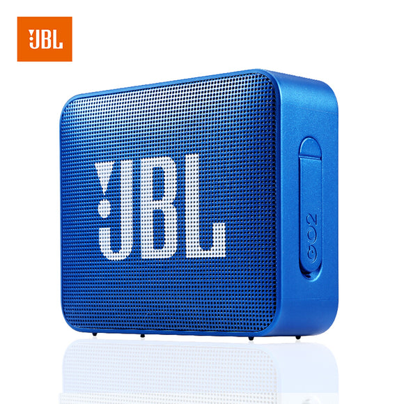 JBL GO 2 Portable Bluetooth Speaker, Blue