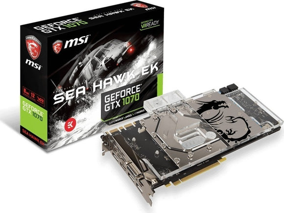 MSI GeForce GTX 1080 Ti Sea Hawk EK X 11GB GDDR5X Graphics Card