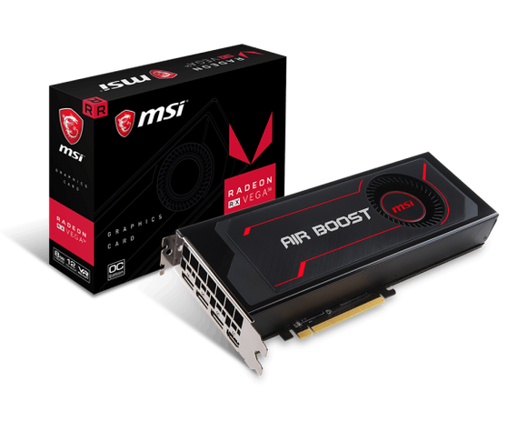 MSI Radeon RX Vega 56 Air Boost 8G OC 8GB HBM2 Graphics Card
