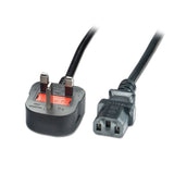 Power Cable for Monitor / PSU with 3-pin UK plug (1.5 meter)