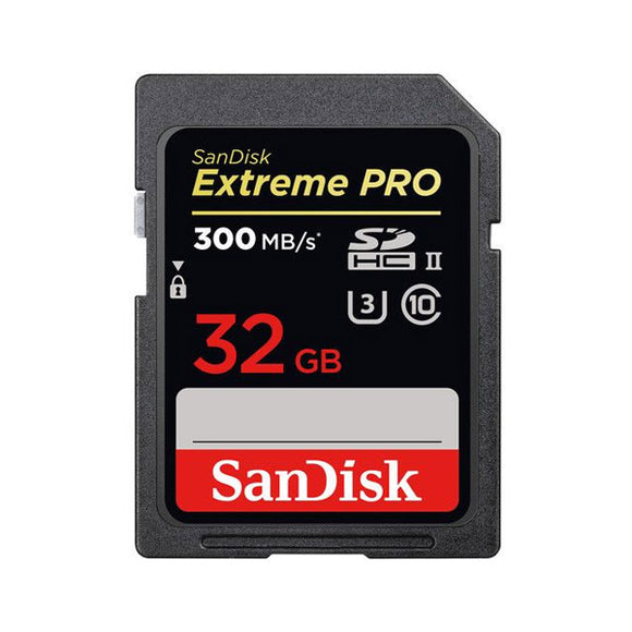 SanDisk 32GB Extreme PRO SDHC UHS-ll