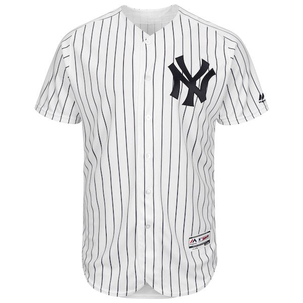 online retailer 655b0 d9f55 Men's New York Yankees Aaron Judge Majestic Home White Authentic Collection  Flex Base Player Jersey