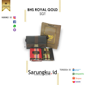 SARUNG BHS ROYAL GOLD SGT ECER/GROSIR 10-PCS