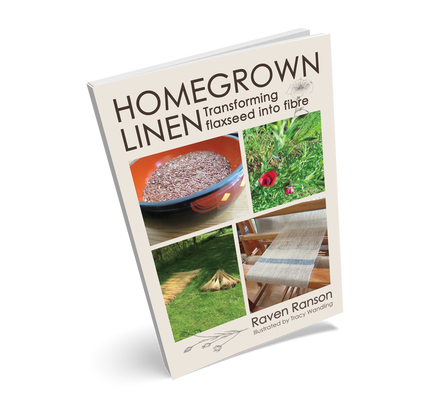 Homegrown Linen - Transforming flaxseed into fibre | Raven Ranson