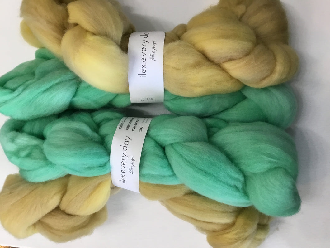 Ilex every day| roving | merino top | 100% merino | 100 g