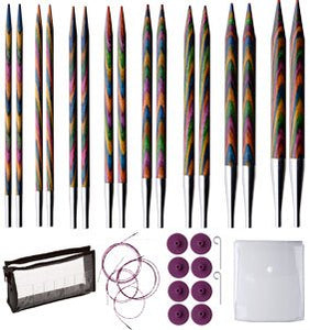 Knit Picks Options Interchangeable Harmony Wood Circular Knitting Needle Set