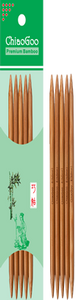 "ChiaoGoo Bamboo Double Pointed 20.3cm (8"")"