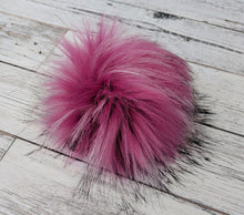 Load image into Gallery viewer, Rose and Purl Faux Fur Pompoms