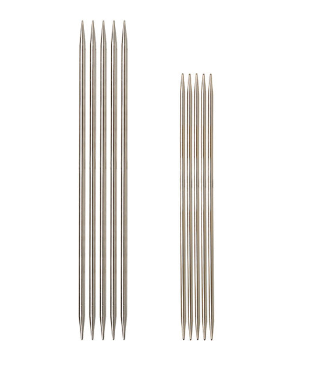 "Knit Picks Nickel Plated Double Pointed Needles - 6"" (15cm)"