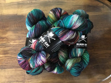 Load image into Gallery viewer, Black Cat Custom Yarn | Fingering Weight | Everyday Sock | 80% SW Merino, 20% Nylon | 400 yards | 113 grams