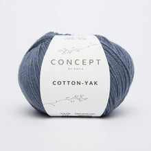 Load image into Gallery viewer, Katia | Aran | Concept Cotton Yak | 60% Cotton, 30% Lana, 10% Yak | 130 yards | 50 grams