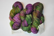 Load image into Gallery viewer, Dandelion Yarn | Fingering weight | 75% SW Merino, 15% Cashmere, 10% Silk | 365 yards | 100 grams