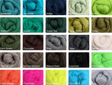 Load image into Gallery viewer, Ashford Merino fibre packs - 100g
