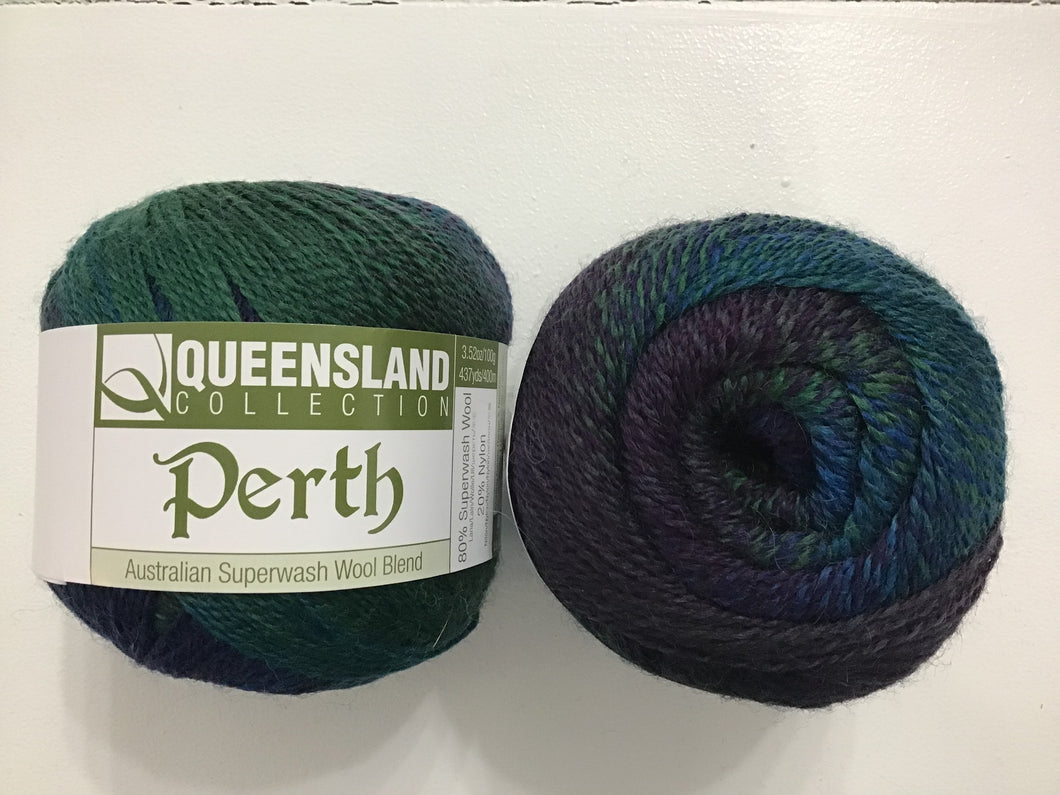 Queensland | Fingering | Perth | 80% Superwash Wool 20% Nylon | 400m | 100g