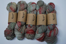 Load image into Gallery viewer, Lichen and Lace | huckleberry | Bulky weight | 80% Merino 20% Nylon | 76 yards | 100 grams