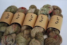 Load image into Gallery viewer, Lichen and Lace  | Fingering weight | 100% Superwash Merino | 400 yards | 100 grams