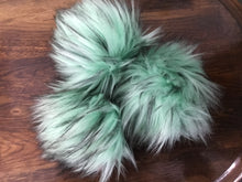Load image into Gallery viewer, Rose and Purl Faux Fur Pompoms - vegan