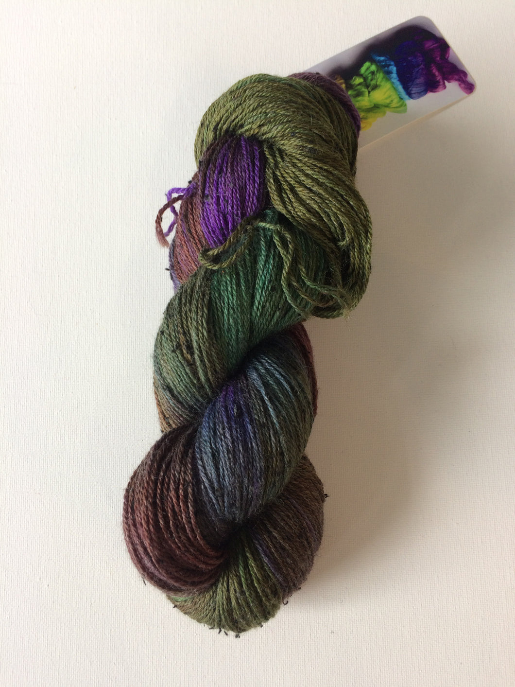 Spun Ware Over the Rainbow | Fingering weight | SW Merino Tweed | 420 yards | 115 grams