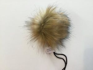 Rose and Purl Faux Fur Pompoms - vegan