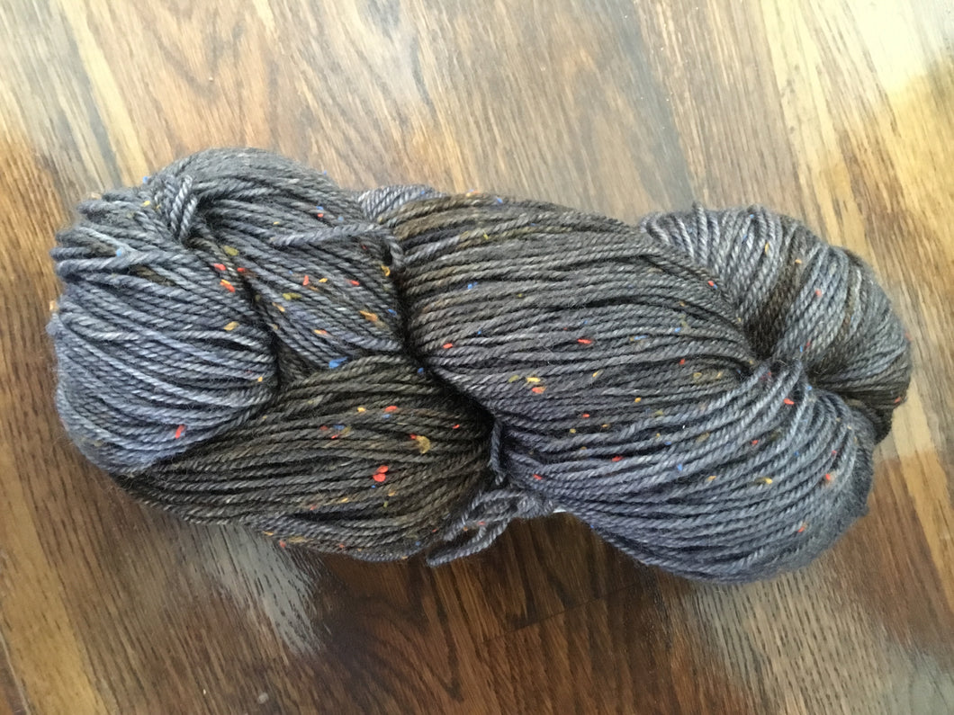 Twisted Fae Fibre Works | Fingering Weight | 80% Superwash Merino Tweed, 20% Nylon | 420 yds (115)
