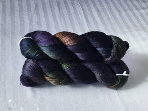 Spun Ware over the Rainbow | Lace weight | 65% Tencel, 35% Alpaca, 10% Nylon | 820 yds | 100g