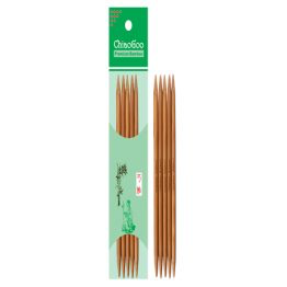 ChiaoGoo Bamboo Double Pointed 15 cm (6″)