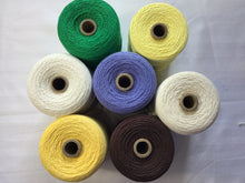 Load image into Gallery viewer, Brassard | 4/8 cotton unmercerized | cones of weaving cotton | 100% cotton |227g 840 yds