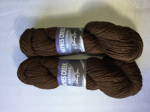 Gathering yarn | Aran | Haynes Creek Heathers | 100% Pure Highland Wool | 197 yds | 100grams