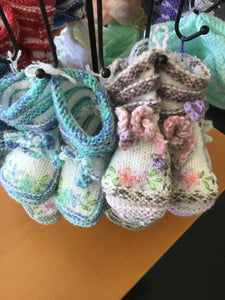 Baby Booties by Nancy