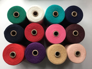 Brassard | 2/8 cotton unmercerized | cones of weaving cotton | 100% cotton |227g 1530m