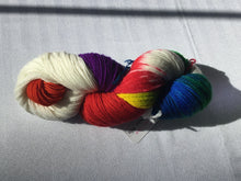 Load image into Gallery viewer, Spun Ware Over the Rainbow | Fingering weight | SW Merino, Nylon | 420 yards | 115 grams