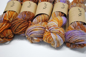 Lichen and Lace | huckleberry | Bulky weight | 80% Merino 20% Nylon | 76 yards | 100 grams