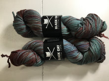 Load image into Gallery viewer, Black Cat Custom Yarn | Worsted Weight | Let's Get Worsted | 100% Superwash Merino | 205 yards | 113 grams