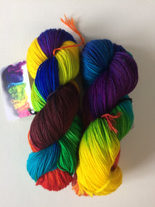 Spun Ware Over the Rainbow | Sport weight | SW Merino | 256 yards | 115 grams