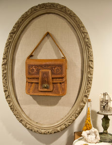 Hand-tooled Leather Purse