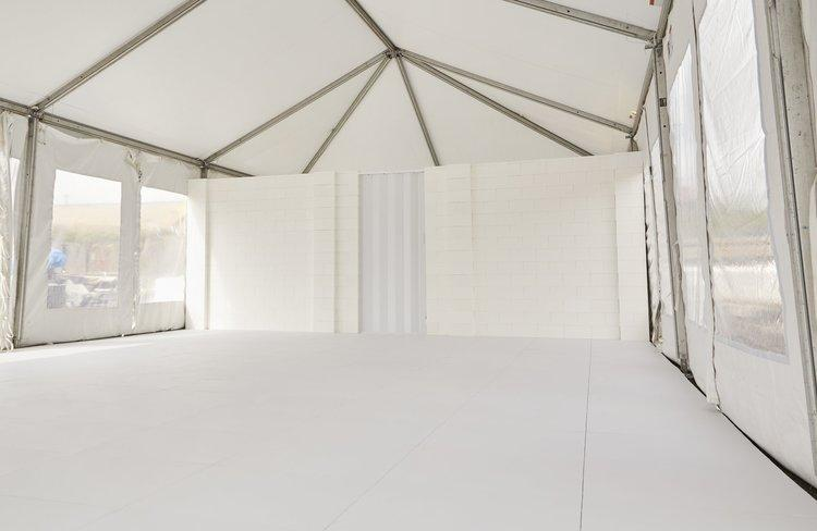 Use EverBase flooring with our EverBlock modular building blocks to create complete marquee and event tent  environments, including interior divider walls to build offices, storage areas, sleeping areas and more.