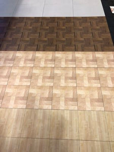 4 realistic wood patterns available