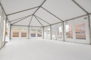 AFTER installing EverBase 2 Marquee & tent flooring.
