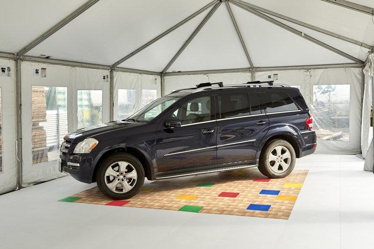 EverBlock garage floors can withstand the weight of vehicles and are easy to clean and install.