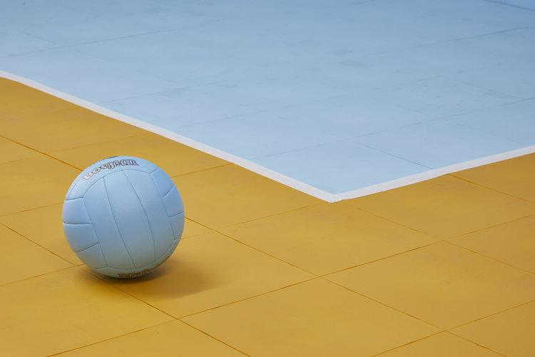 Ideal for Volleyball floors at tournaments and for permanent use.