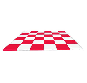 6ft x 6ft Chequer Floor