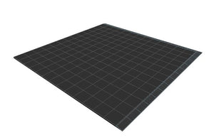 13ft x 13ft Black Floor