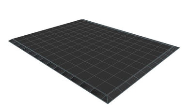 10ft x 13ft Black Floor