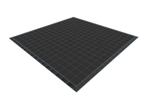 16ft x 16ft Black Floor