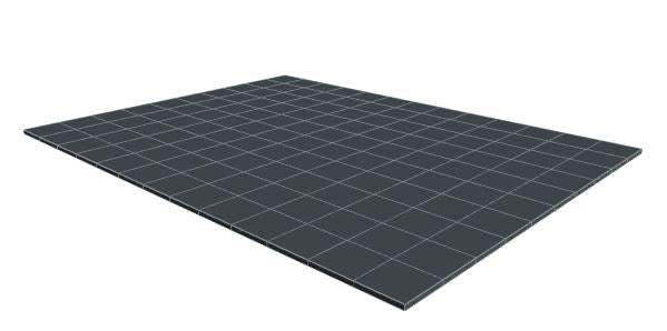10ft x 13ft Dark Grey Floor