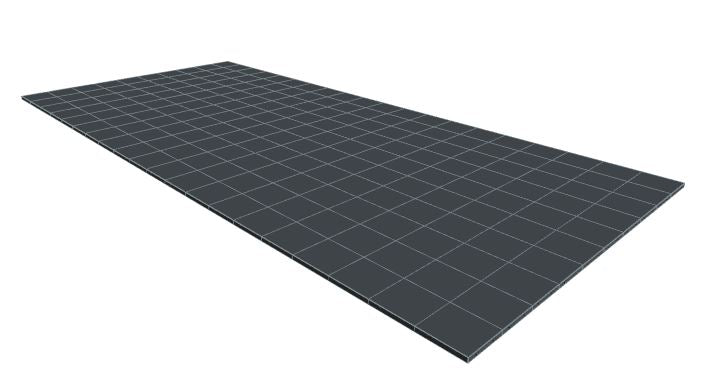 10ft x 20ft Dark Grey Floor