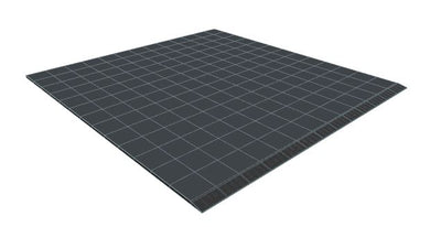 13ft x 13ft Dark Grey Floor